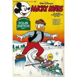 Micky Maus Nr. 3 / 13 Januar 1981 - Polar Station