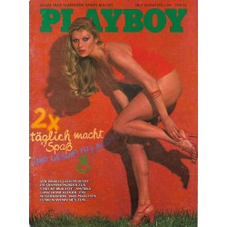 Playboy Nr.8 / August 1976 - Playmate Milda Jansen