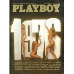 Playboy Nr.1 / Januar 1976 - Playmate Beate Grötzinger