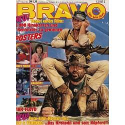 BRAVO Nr.7 / 7 Februar 1980 - Bud Spencer & Terence Hill