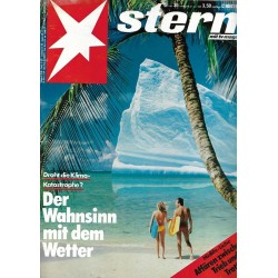 stern Heft Nr.30 / 21 Juli 1988 - Droht die Klima-Katastrophe?