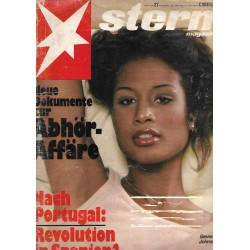 stern Heft Nr.27 / 26 Juni 1975 - Beverly Johnson