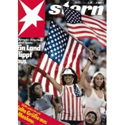 stern Heft Nr.33 / 9 August 1984 - Amerikas Jubel Spiele