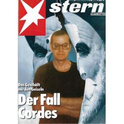 stern Heft Nr.33 / 15 September 1988 - Der Fall Cordes