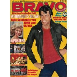 BRAVO Nr.51 / 14 Dezember 1978 - John Travolta & Olivia