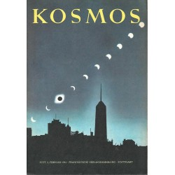 KOSMOS Heft 2 Februar 1961 - Sonnenfinsternis 1954