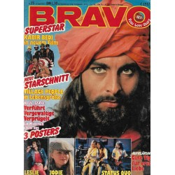 BRAVO Nr.25 / 13 Juni 1979 - Kabir Bedi in neuem Film