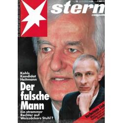 stern Heft Nr.39 / 23 September 1993 - Der falsche Mann