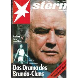 stern Heft Nr.48 / 22 November 1990 - Das Drama des Brando Clans