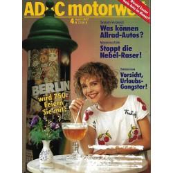 ADAC Motorwelt Heft.4 / April 1987 - Berlin wird 750