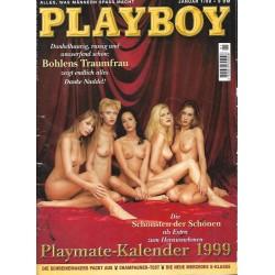 Playboy Nr.1 / Januar 1999 - Playmate Kalender 1999