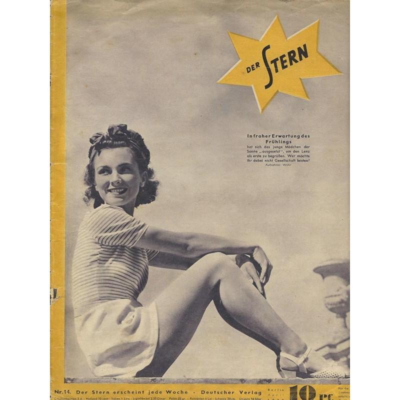 Der Stern Nr.14 / April 1939 - In froher Erwartung des Frühlings