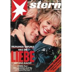 stern Heft Nr.16 / 11 April 1990 - Liebe