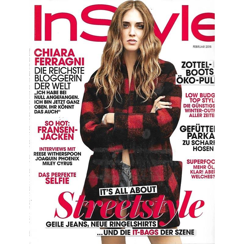 InStyle 2/Februar 2015 - Chiara Ferragni / Streetstyle