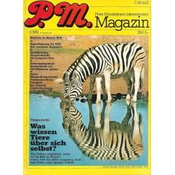 P.M. Ausgabe März 3/1981 - Was wissen Tiere über sich selbst?