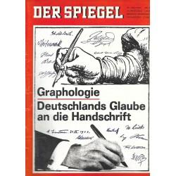 Der Spiegel Nr.27 / 30 Juni 1965 - Graphologie