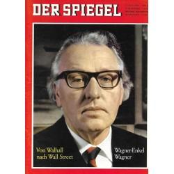 Der Spiegel Nr.30 / 21 Juli 1965 - Wagner-Enkel Wagner