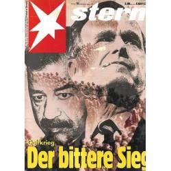 stern Heft Nr.10 / 28 Februar 1991- Golfkrieg
