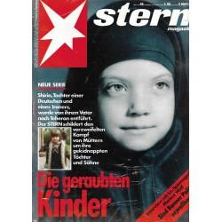 stern Heft Nr.46 / 8 November 1990 - Die geraubten Kinder