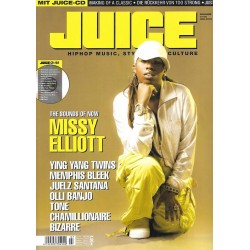JUICE Nr.76 Juli / 2005 & CD 54 - Missy Elliott