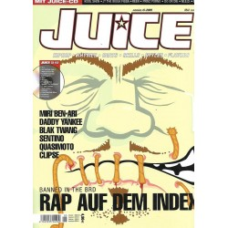 JUICE Nr.74 Mai / 2005 & CD 52 - Banned in the BRD