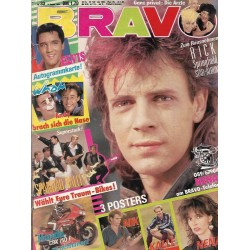 BRAVO Nr.33 / 9 August 1984 - Rick Springfield