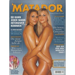 Matador Oktober/November 2004 - Ines & Nadja
