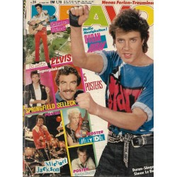 BRAVO Nr.34 / 16 August 1984 - Simon Le Bon