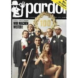 pardon Heft 1 / Januar 1971 - Wir machen weiter!