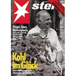 stern Heft Nr.31 / 26 Juli 1990 - Kohl im Glück