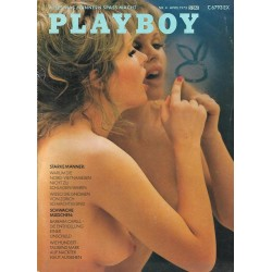 Playboy Nr.4 / April 1973 - Barbara Capell