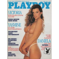 Playboy Nr.4 / April 1986 - Playmate Daniela Frei