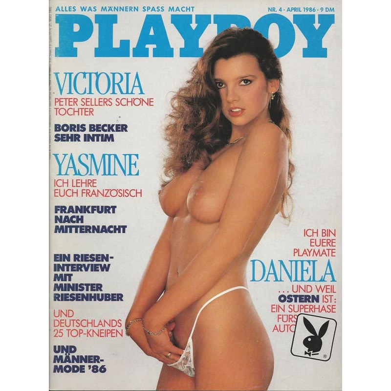 Playboy Nr.4 / April 1986 - Playmate Daniela Frei
