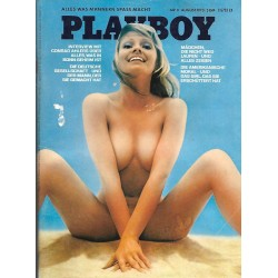 Playboy Nr.8 / August 1973 - Cyndi Wood
