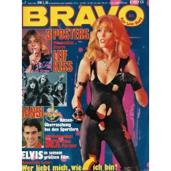 BRAVO Nr.7 / 9 Februar 1978 - Amanda Lear