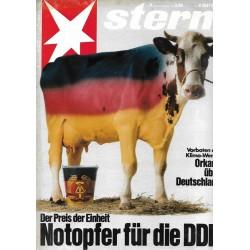 stern Heft Nr.8 / 15 Februar 1990 - Notopfer für die DDR