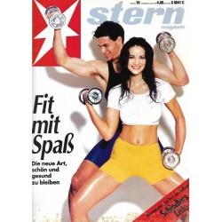 stern Heft Nr.10 / 3 März 1994 - Fit mit Spaß