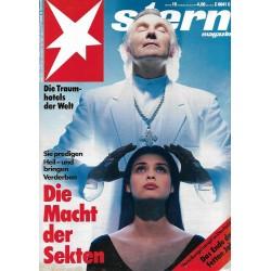 stern Heft Nr.19 / 29 April 1992 - Die Macht der Sekten
