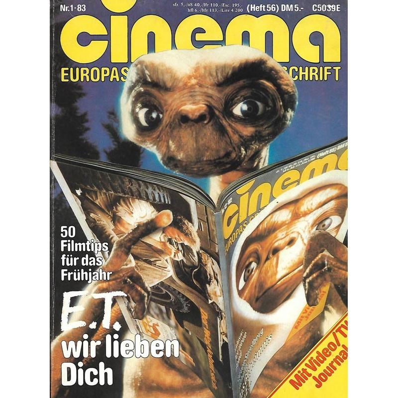 CINEMA 1/83 Januar 1983 - E.T. wir lieben Dich