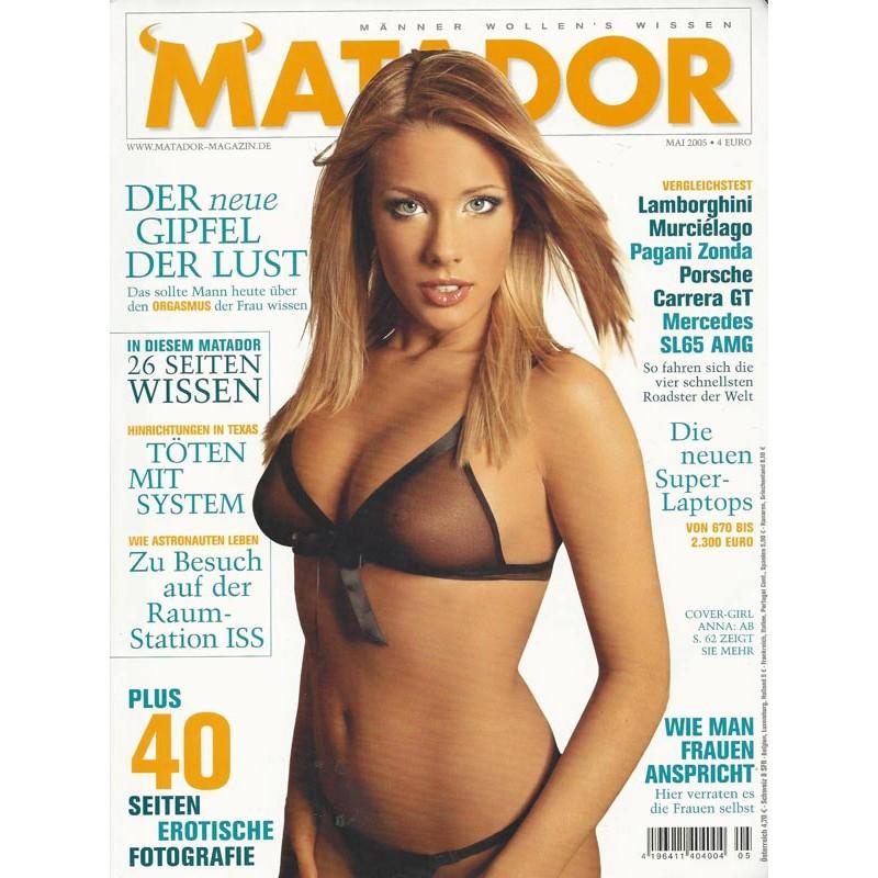 Matador Mai 2005 - Anna Reusch