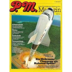 P.M. Ausgabe April 4/1982 - Weltraum Flugzeug