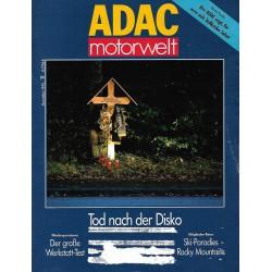 ADAC Motorwelt Heft.11 / November 1992 - Tod nach der Disco