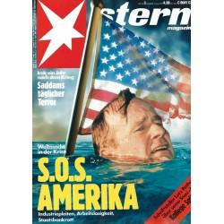 stern Heft Nr.3 / 9 Januar 1992 - SOS Amerika