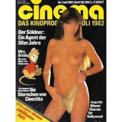 CINEMA 7/82 Juli 1982 - Sonja 19 Jahre