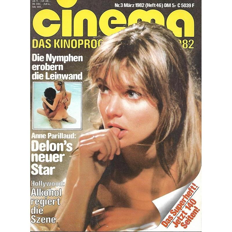 CINEMA 3/82 März 1983 - Anne Parillaud