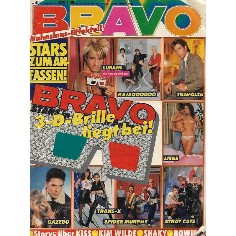 BRAVO Nr.34 / 1 Dezember 1983 - 3D Brille