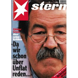 stern Heft Nr.36 / 31 August 1995 - Günter Grass