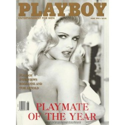 Playboy USA Nr.6 / Juni 1993 - Vickie Smith