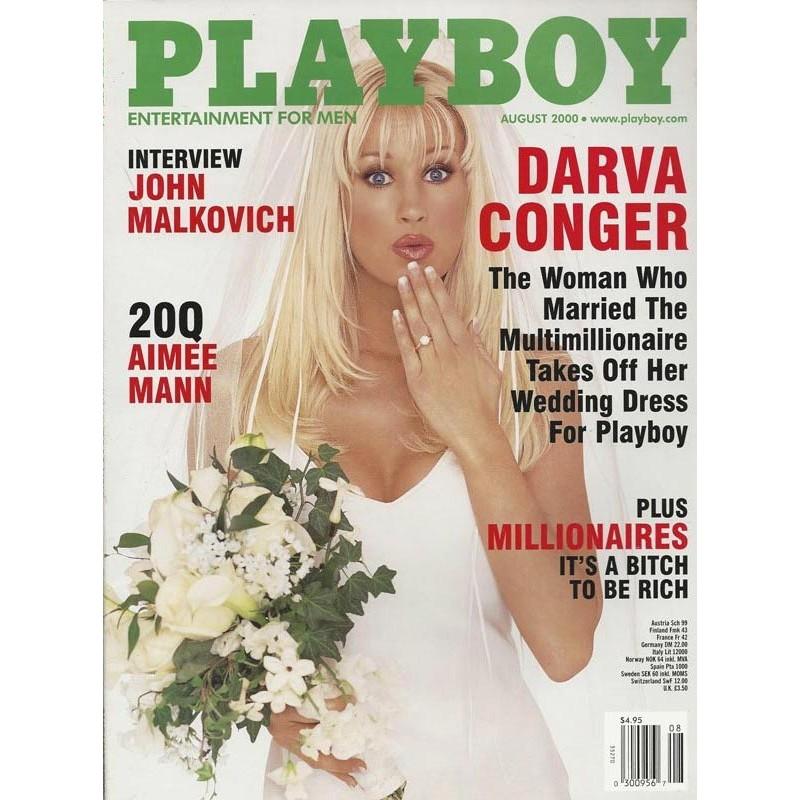 Playboy USA Nr.8 / August 2000 - Darva Conger