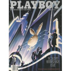 Playboy USA Nr.1 / Januar 1988 - Rabbit Head